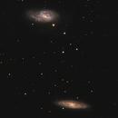 M65 M66 Intermediate Spiral Galaxies,                                Jerry Macon