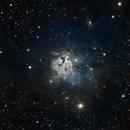 NGC 1579  Northern Trifid Nebula  -  SHO,                                Albert  Christensen