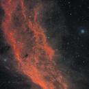 California Nebula 2-Panel,                                starfield