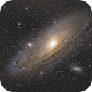 M31 Andromeda galaxy,                                Marie