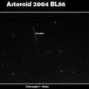2004 BL86 in remoto con Astra,                                Spock