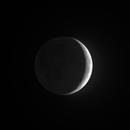Lune cendrée HDR,                                Jean-Marc