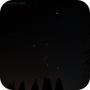 Widefield Shot of Orion with Jupiter East of Hyades,                                Garry O'Brien