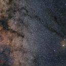 Milky way center and Antares region,                                sergio.diaz