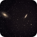 M81 & M82 Bodes Galaxies - first attempt,                                Günther Dick