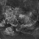 NGC 6357 - HA,                                Gerson Pinto