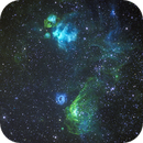 NGC2014, NGC2020, NGC2021, NGC2032, NGC2035 and NGC2040 within the Large Magellanic Cloud,                                Bruce Rohrlach