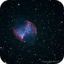 The Dumbell Nebula,                                Don Curry
