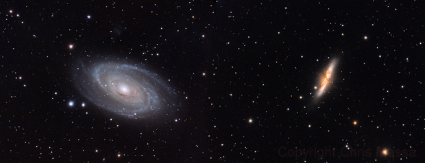 M81-M82 Mosaic,                                Chris Massa