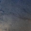 Rho ophiuchi region and Milky way mosaic,                                Alan Ćatović