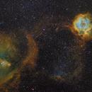 "Rosetta Nebula & Chritsmas Tree Nebula,                                Makoto""G-H""Shindou"