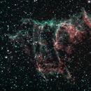 NGC 6995 - The Bat Nebula,                                Astro_Time_Traveller