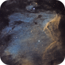 The Pelican Nebula - IC 5070 in SHO,                                Crazy Owl Photography