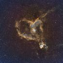 IC 1805 in HSO narrowband,                                William Jordan