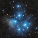 M 45 - Pleiades - Seven Sisters,                                Jerry Macon