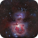M42 Orion Nebula and Running Man with 2 scopes,                                Göran Nilsson