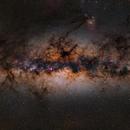 Milky Way Panorama,                                Wei-Hao Wang