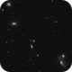 Markarian's chain ,from NGC 4477 to 4438,                                echosud