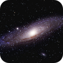 M31 - first attempt at monochrome and controlling color,                                Rob Calfee