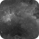 Melotte 15 (IC1805) in H-Alpha,                                Christian Großmann