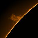 Solar Prominence - June 25 2021,                                Ilan Shapira