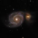 M51 - Whirlpool Galaxy,                                Mark Spruce