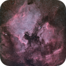 North America and Pelican Nebula Narrowband (Bicolor),                                pfile