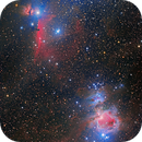 Orion, Flame and horsehead Nebula,                                Bram Goossens