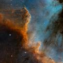 The Great Wall  part2  -  NGC7000  in Cygnus,                                Arnaud Peel