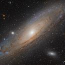 M31 Galassia di Andromeda,                                Maurizio Cabibbo