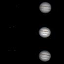 Jupiter , Europa and Io,                                Dominique Callant