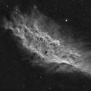 California nebula in Ha,                                Nadir Astro
