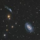 Seyfert Galaxy NGC4725  in Coma Berenices,                                Masahiro Takahashi