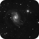 NGC1566  with 2x Drizzle,                                Robson Hahn