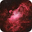 M16 Eagle Nebula HOO+OSC,                                Astrovetteman