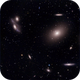 M86 and Markarian's Chain,                                Seymore Stars