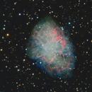 M1 The Crab Nebula,                                Pyrasanth