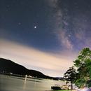 Milky Way from Lake George, NY,                                Kurt Zeppetello