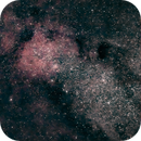 Barnard 92 and 93 in M24 (Small Sagittarius Star Cloud) - unguided widefield,                                Ian Dixon