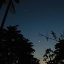 Conjunction moon Venus and Jupiter and mars, 9 October  2015,                                Edmilson junior