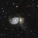 Galaxie du Tourbillon M51,                                Walliang Jacques