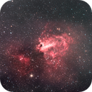 M 17  Omega Nebula,                                Alessandro Merga