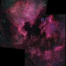 NGC 7000 North American Nebula & IC 5070 Pelican Nebula Mosaic,                                Stephen Charnock
