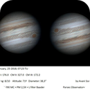 Jupiter with C8,                                Astroavani - Ava...