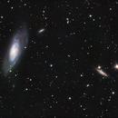 M106 NGC 4217 and friends,                                Piet Vanneste