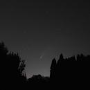 Comet Neo over Southern Idaho,                                Gary Leavitt