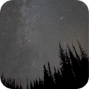 Fall forest fields of stars (Cassiopeia and Companions),                                Scott Denning