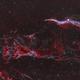 Western Veil Nebula,                                nerdybeardo