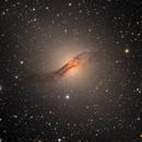 NGC 5128, Centaurus A,                                flyingairedale