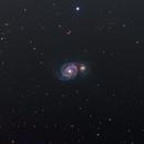 M51 The Whirlpool Galaxy in LRGBHa (NEW SETUP) FIRST LIGHT!,                                Brian Meyerberg